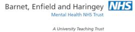Barnet Enfield and Haringey Mental Health Trust